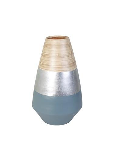 Kanca Ev Bambu Vazo Renkli